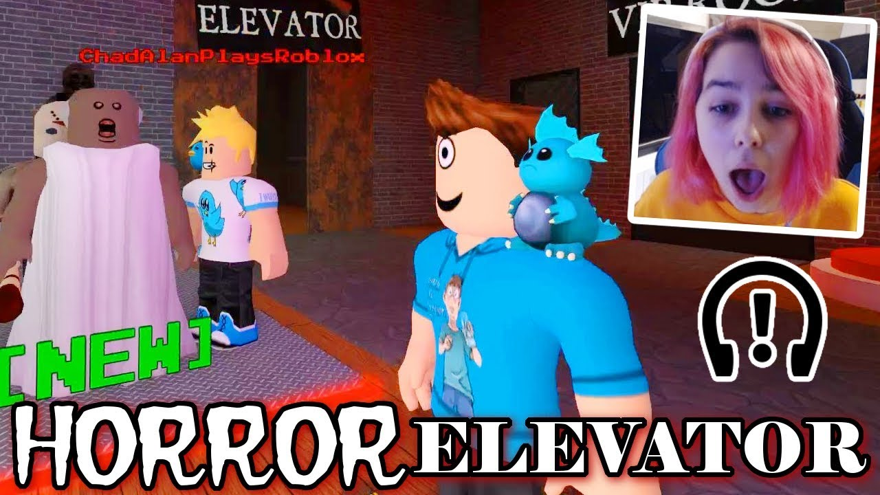 Roblox Horror Elevator With Gamer Chad Microguardian Youtube