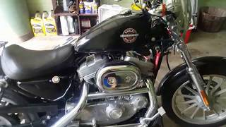HD Sportster Oil and Primary Fluid Change How-To