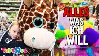 7 Jährige darf bei TOYS R US ALLES kaufen! MEGA SHOPPING TOUR 🎁 Kleine Familienwelt