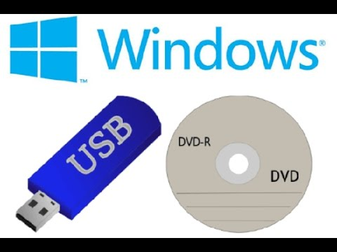 How to Create Windows-7-8-10 USB or DVD Bootable