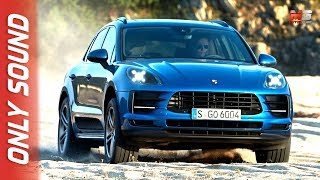 NEW PORSCHE MACAN 2019 - FIRST TEST DRIVE ONLY SOUND