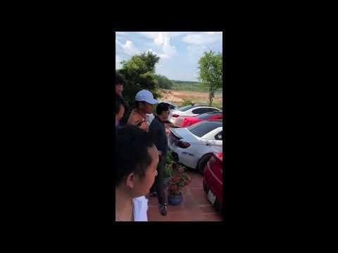 Lampoghini Aventador Nẹt Bô Cháy Đất BP Cùng G35 Infiniti !!!!!!!!!!!!!!