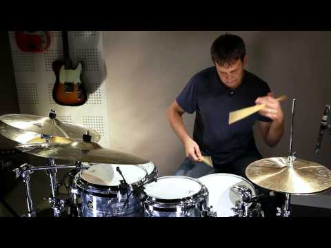 Gretsch Drums - Keith Carlock - Warm Up - Echauffement