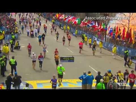 Video Captures Bombs Exploding at Boston Marathon
