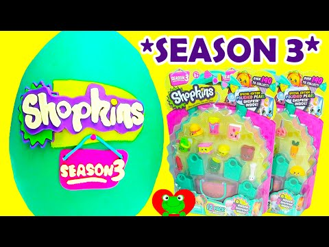 Season 3 Shopkins with Choc Frosted Ultra Rares