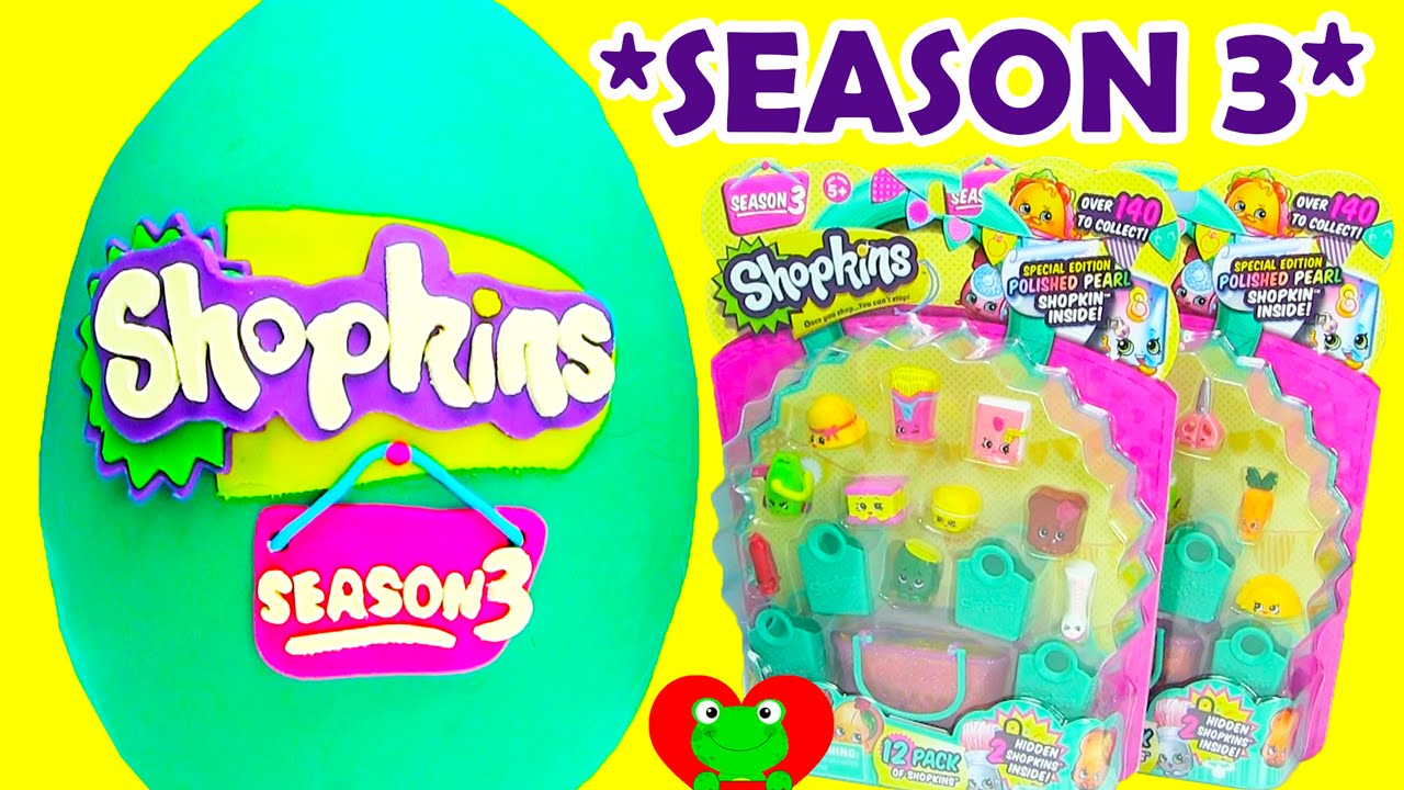 Season 3 Shopkins with Choc Frosted Ultra Rares - YouTube