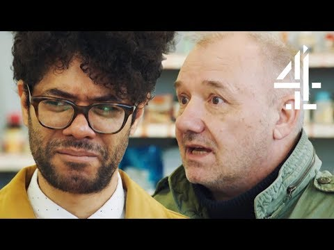 "Richard Ayoade: ""Mate, Where's the Toilets?"" Trying Expired Goods with Bob Mortimer 