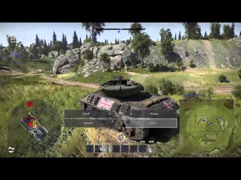 War Thunder British & German tanks!