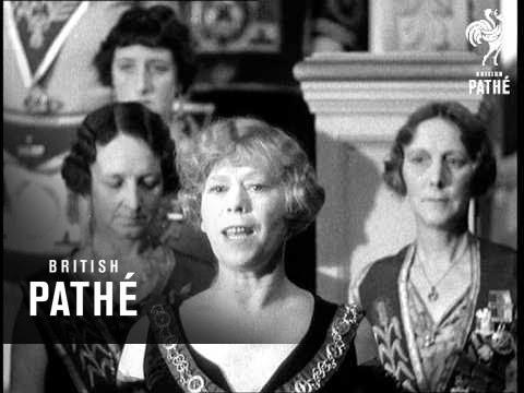 Honourable Fraternity Of Ancient Freemasons (1933)