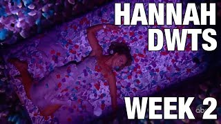How Was Hannah Brown's Week 2 on Dancing With The Stars?