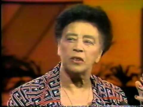 Mabel Mercer, 1978 TV, Wait Till You're 65, The Times of Your Life