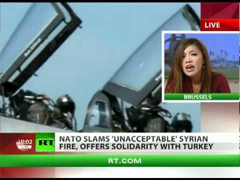 NATO slams Syria over jet attack, Turkey rattles sabres