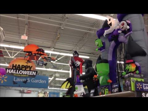 halloween display of 2015 items for sale at walmart kissimmee florida usa - Halloween Walmart