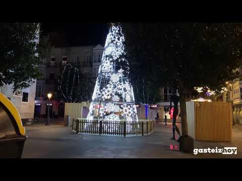 Slow TV: Paseo por Vitoria-Gasteiz en Navidad