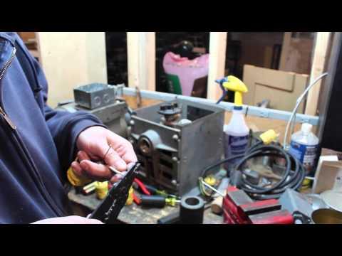 Garage Adventures: Printing Press Motor Part 1