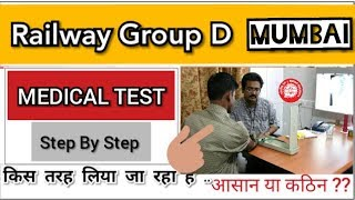 RRB Group D: Full Medical Experience Of Mumbai Zone