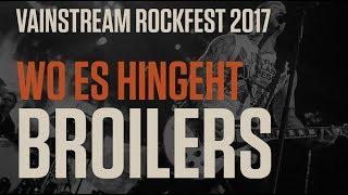 Broilers   Wo es hingeht  Official Livevideo   Vainstream 2017 4K