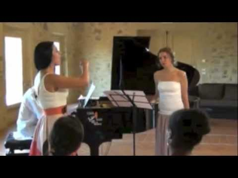 Angela Gheorghiu - First Masterclass at Georg Solti Accademia, Castiglione della Pescaia, July 2012