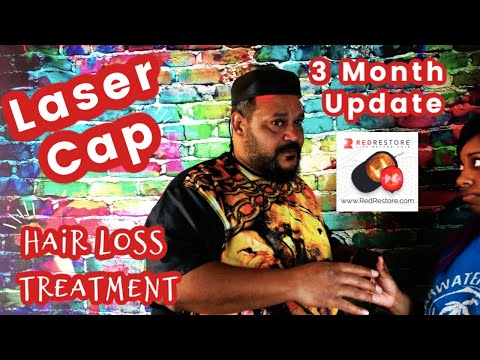 Red Restore Laser Cap Hair Loss Therapy 3 month Update || Vicariously Me