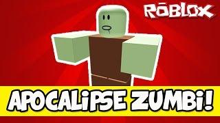 THE ZOMBIE APOCALYPSE! -ROBLOX (Zombie Rush) Feat. Cazum8