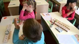 Решение задач в детском саду, контрольное занятие