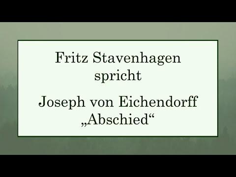 """Joseph von Eichendorff """"Abschied"""""""