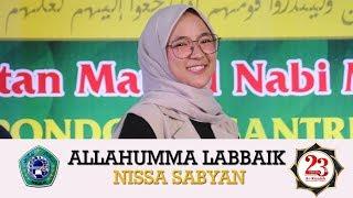 ALLAHUMMA LABBAIK - Live Terbaru Sabyan 2018 (PP AR RISALAH LIRBOYO KOTA KEDIRI)