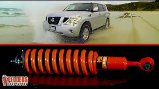 Pedders Suspension & Brakes to suit the Nissan Patrol