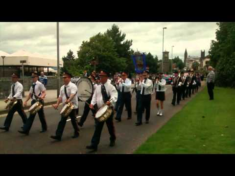 Curran Flute Band @ Derry Day 2015