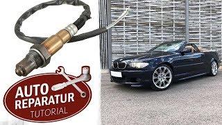 """BMW E46 Lambdasonde wechseln   """"Hoher Verbrauch als mögliche Ursache""""   DIY Tutorial"""
