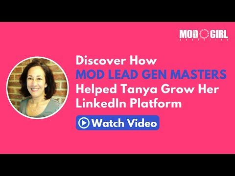 Grow Your Digital Agency with LinkedIn - Mod Lead Gen Masters Testimonial