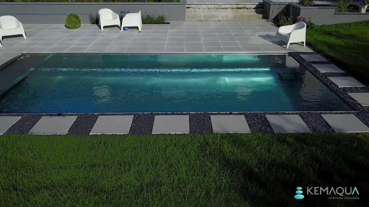 Piscine En Inox Steel And Style stainless steel swimming pool | kemaqua