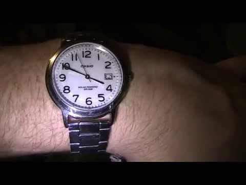 8b1ddba68c49 Solar Watch Review On Casio Tough Solar Powered Wrist Watch - YouTube