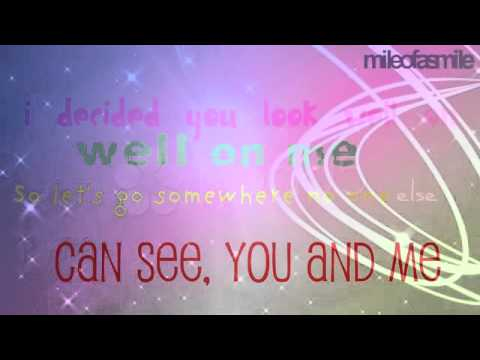 The Wanted- I'm Glad You Came with Lyrics