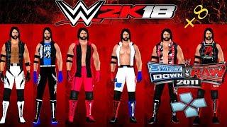 SvR 2011 Aj Styles Coleccion de Texture 2011/2k18 PSP | MS. WWE