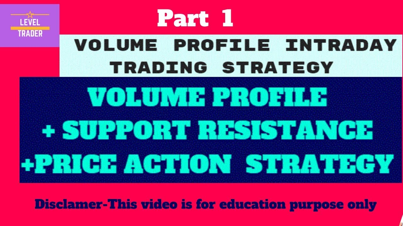 Volume Profile Intraday Trading Strategy combined with PRICE ACTION part 1