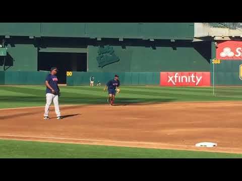 Xander Bogaerts injury: Boston Red Sox SS moves well taking grounders, runs bases (video)