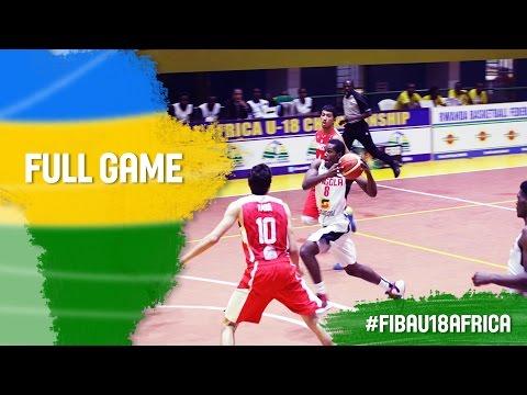 Angola v Tunisia - Full Game - Semi Final - 2016 FIBA Africa U18 Championship