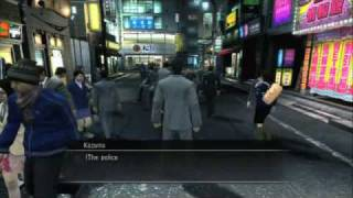 Yakuza 3: Exploration & Fight Gameplay