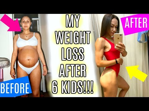 HOW I LOST WEIGHT & SHAPED MY BODY AFTER 6 KIDS!!!