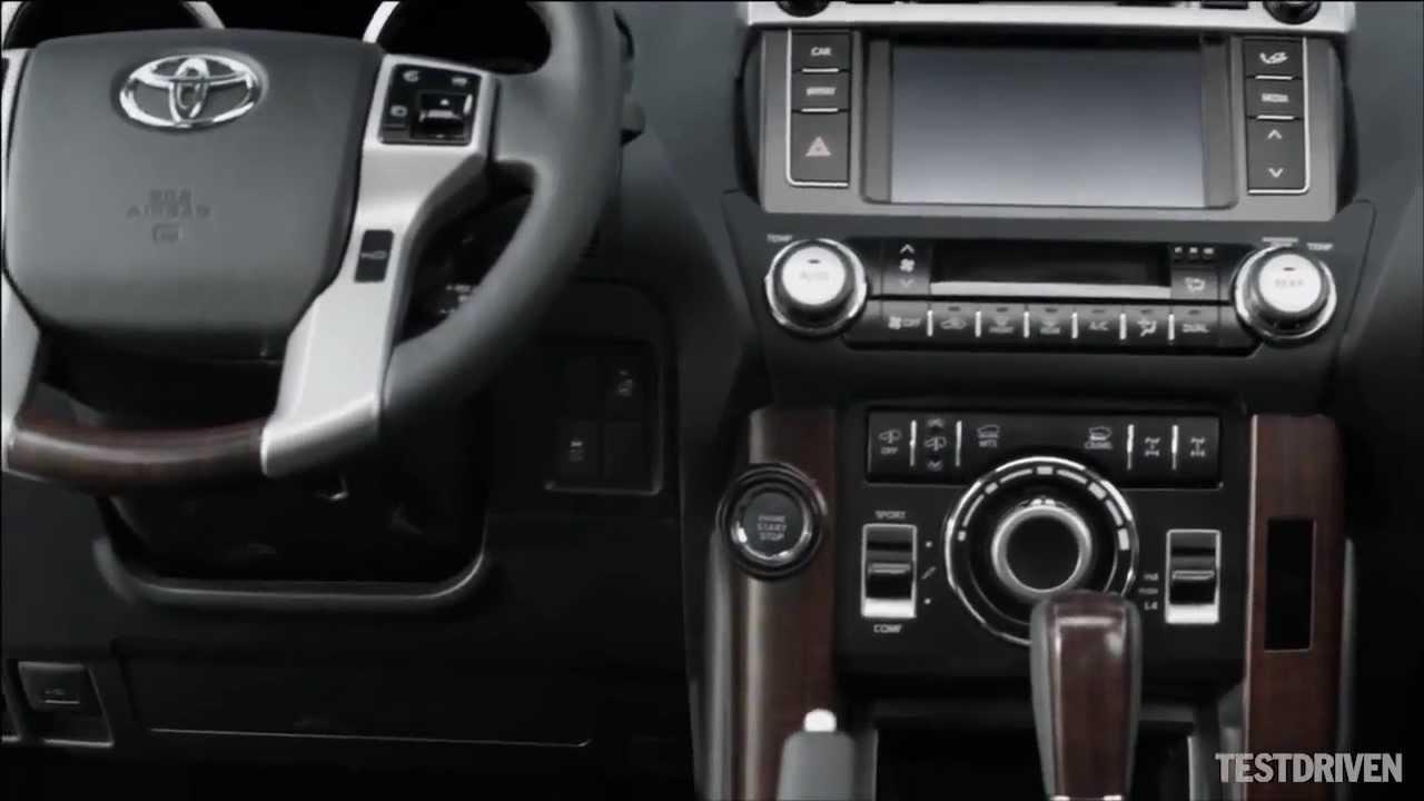Toyota Land Cruiser 150 NEW Interior YouTube