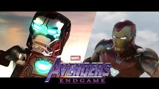 Avengers: ENDGAME in LEGO! Final Trailer- Side by side version!