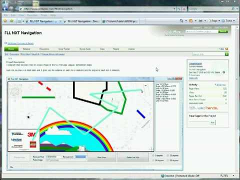 Introduction to FLL NXT Navigation Software Repository - Part1