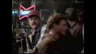 1987 Budweiser beer commercial. This Bud's for You.