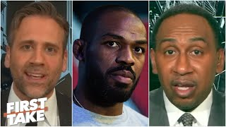 Stephen A. and Max react to Jon Jones' latest arrest | First Take