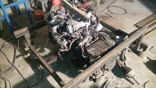 Трайк V6 3 литра. Подрамник двигателя.