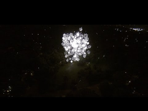 Fireworks From a Drone, Topeka Kansas