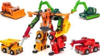 Transformers Car Robots RID Construction LandFill Carbot Build king Vehicle Combine Robot Car Toys