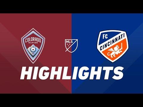 Colorado Rapids vs. FC Cincinnati   HIGHLIGHTS - June 1, 2019