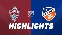 Colorado Rapids vs. FC Cincinnati | HIGHLIGHTS - June 1, 2019